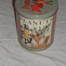 Peanuts Advertisement Tin Can