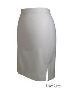 HANNAH ESSENTIALS Stretch Wool Short Skirt GREY Sz 6