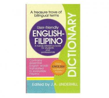 ENGLISH FILIPINO POCKET SIZE USER FRIENDLY DICTIONARY