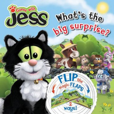 GUESS WITH JESS WHAT'S THE BIG SURPRISE? CHILDRENS LEARNING BOOK