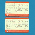 BRITISH RAIL PAIR OF TICKETS CARLISLE APPLEBY 2002