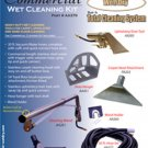Aqua Air Wet Cleaning Kit Commercial for Central Vacuum System