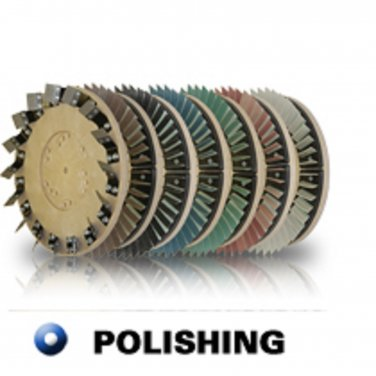 "Diamabrush 18"" Concrete Polishing Tool 100 Grit"