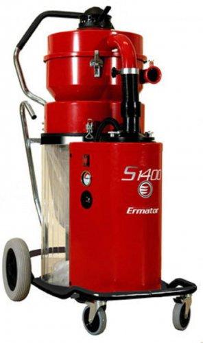 Ermator S1400 HEPA Extractor Dust Collector Vac 4 Concrete Grinder