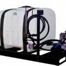 Commercial Skid Sprayer 150 Gallons Delavan Roller Pump