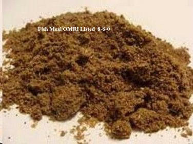 Fish Meal 8-6-0 OMRI Listed 200 lbs
