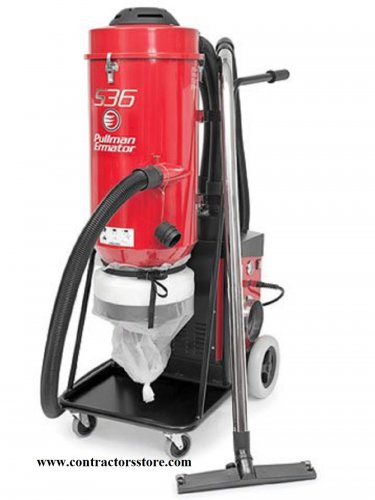 Ermator S36 Dust Extractor Single Phase HEPA 230V