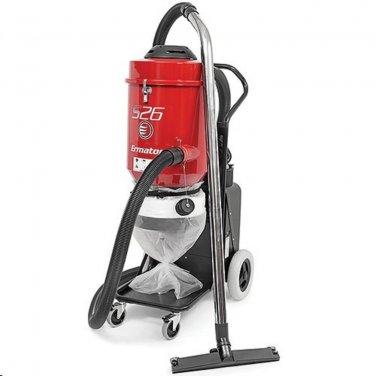 Ermator S26 Single Phase HEPA Dust Extractor Vacuum 230V