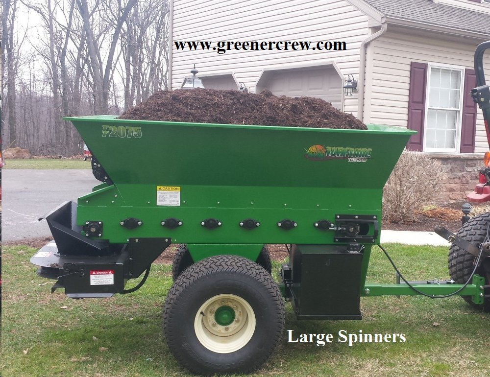 Topdresser Sand Spreader, Applying Compost, Top Dressing Greens & Fairways