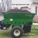 Topdresser Sand Spreader, Applying Compost, Top Dressing Greens & Fairways