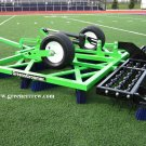 Turf Groomer Synthetic Sports Fields Turf  Electric Lift