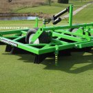 Golf Course Greens Groomer Topdressing Turf Brush