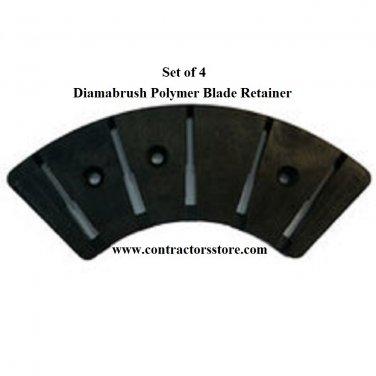 Diamabrush Polymer Blade Retainer 4 Pack