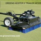 Tow-Behind Greens Brush, Fairways, Tee Box Brush