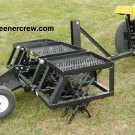 """69"""" Coring turf Aerator 3-Point Golf Course, Sports Complex"""