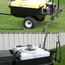 80 Gallon Sports Turf Sprayer, Utility Sprayer 10' Boom Briggs Engine