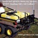160 Gallon Sprayer Honda Engine Sports Turf, Lawn Care, and Utility Sprayer