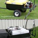 110 Gallon Sprayer Honda Engine 10' Boom Sports Turf, Lawn Care, and Utility Sprayer