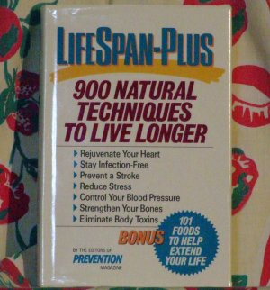 LifeSpan-Plus ['VG+'!/$12.95] (by: The Editors Of Prevention Magazine)