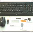 Original New HP 5189URF 2.4GHz PC Wireless keyboard & Optical Mouse & Receiver
