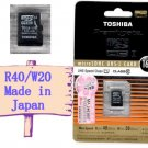 Toshiba Micro SDHC 16GB UHS-I Class 10 16G UHS I SD Flash Memory Card Hi Speed Made in Japan