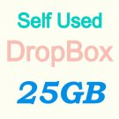DropBox 25G Storage Backup Cloud Driver- no monthly cost + last forever