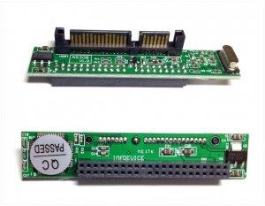 44pin IDE hard driver convert to 2.5'' 3.5'' SATA motherboard Adapter Laptop