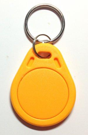 Lot 100x Yellow NFC Label Smart Tag Tags Read & Write Apps Mifare IC S50 1K RFID