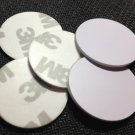 Lot of 100 NFC Tag PVC Waterpoor 3M Adhesive Label RFID 13.56MHz 1k S50 MF1 IC Smart 25mm diameter