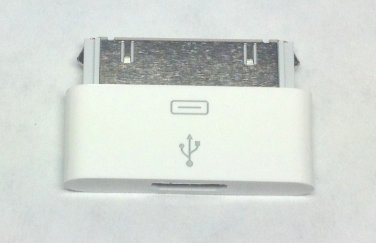 Original Micro USB to Apple 30pin port converter adapter Data Sync & Charge Dock for iphone 4 4s