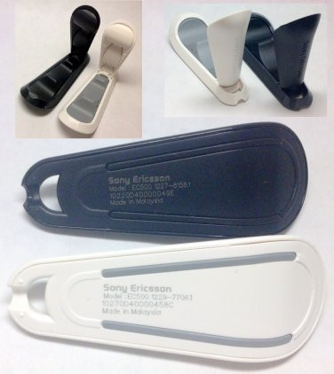 One Pair Black & White Original Sony Ericsson EC500 Mini Stand for U1i U5i X10