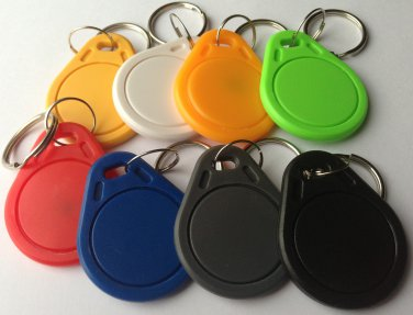 Set of 8 NFC Label Smart Tag for Android Read & Write Apps Mifare IC S50 1k RFID