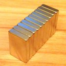 "10 pcs N52 block 15mm*10mm*3mm neodymium permanent magnets craft 3/5'*2/5""*1/8"""