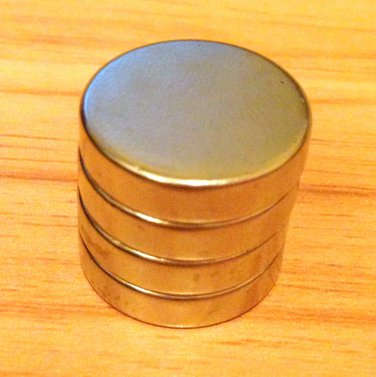4 pcs/lot N52 disc 20mm*5mm Neodymium Permanent Magnets rare earth Craft