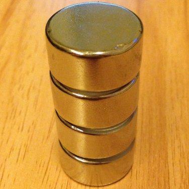 4 pcs/lot N52 disc 20mm*10mm Neodymium Permanent Magnets rare earth Craft