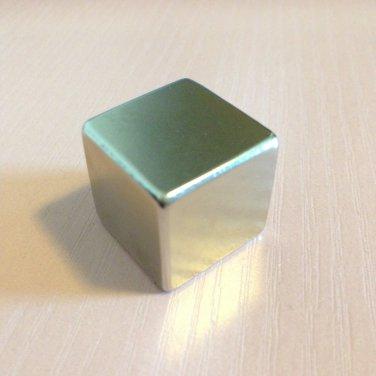 1 piece grade N52 Neodymium permanent Magnets 20mm*20mm*20mm craft
