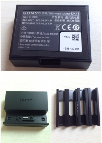 Original Sony DK48 Magnetic Charging Dock Docking fr Xperia Z3 & Z3 Compact Mini