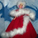 Barbie in White Christmas Gown