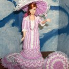 Barbie in 1800s Mothers Sunday Frock