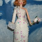 Barbie in a Crocheted Princess Diana Gala Ball Gown
