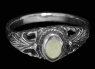 Mother of Pearl Sterling Silver Ring shipped from Hawaii