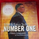 What It Takes To Be Number One by Vince Lombardi & Vince Lombardi Jr.  Audio CD