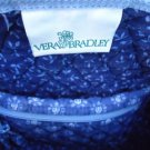 Vera Bradley Talbots French Blue Duffel Tote Shoulder bag Purse