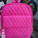 VERA BRADLEY 2004 CLASSIC PINK MICRO FIBER BACKPACK RARE