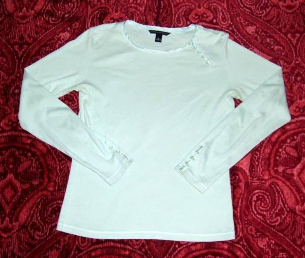 Banana Republic W S Top Shirt Button Detailing