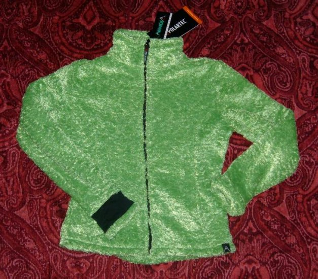 S Avalanche Green Polartec Jacket Small NWT Full Zip