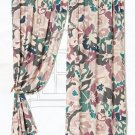 "Anthropologie $248 (ONE) Winter Garden Curtain 50"" x 84"" NWT"