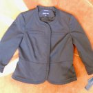4 Jones of New York Signature Stretch Career Blazer Small Black Ruffles