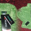 Avalanche Thermal Pro Polarfleece Women's Fleece Jacket NWT Green Small