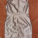 US 8 Hugo Boss Deora Evening Gown Dress Warm Shimmer NEW